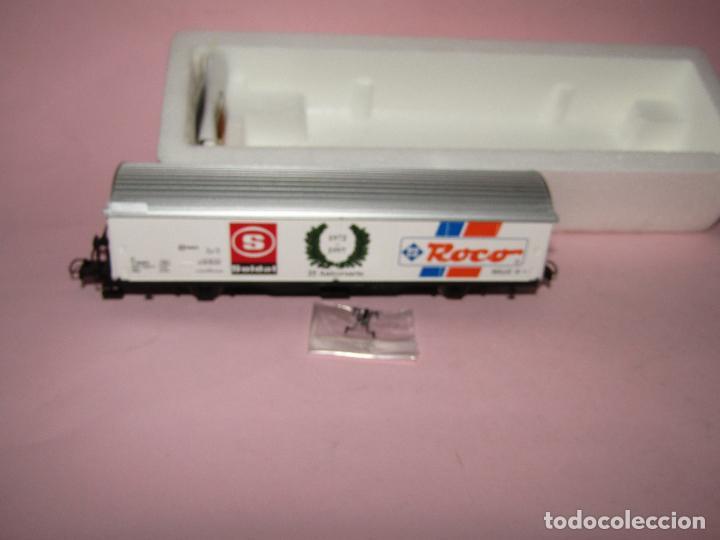 Trenes Escala: Vagón Cerrado de Mercancías 25 Aniversario SOLDAT 1972 - 1997 en Esc. *H0* de ROCO - Foto 3 - 271612478