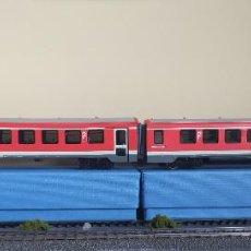 Trenes Escala: ROCO H0 AUTOMOTOR DIÉSEL BR 628/928, DE LA CFL (LUXEMBOURG), REFERENCIA 63011 DC ANALOGICO.. Lote 271626088