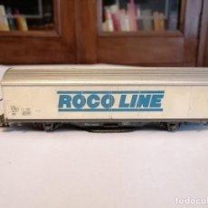 Trenes Escala: ROCO H0 VAGÓN DE LIMPIEZA DE VÍAS ROCO CLEAN. Lote 276166088