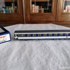 Trenes Escala: ROCO H0 45387 VAGÓN DE PASAJEROS DE 1ª CLASE SNCF FRANCÉS NUEVO OVP. Lote 276634363