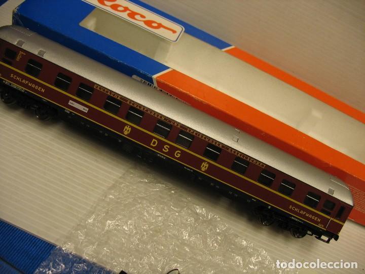 Trenes Escala: roco coche viajeros DSG ho 44898 - Foto 8 - 277095598