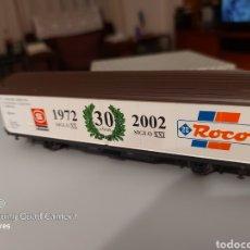Trenes Escala: VAGON ROCO CONMEMORACIÓN 30 AÑOS H0 NUEVO A ESTRENAR. Lote 277848623