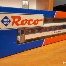 Trenes Escala: RENFE COCHE ESCALA H0 SERIE 10.200 INTERCITY ROCO NºREF.44372. Lote 278574683