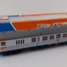 """Trenes Escala: COCHE DE CONTROL """"SILBERLING"""" DE ROCO H0, LONGITUD 26,5 CM, ENVIO 5,00 EUROS, LOT 49. Lote 278577928"""