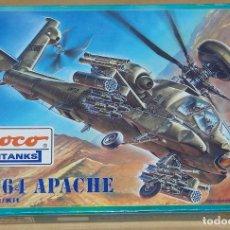 Trenes Escala: AH-64 APACHE, ROCO 1/87. Lote 281981863