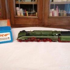 Trenes Escala: ROCO H0 63201 LOCOMOTORA DE VAPOR BR 18 201 DB AG ALEMANA DIGITAL OVP. Lote 284310568