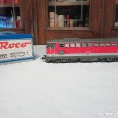 Trenes Escala: ROCO H0 63900 LOCOMOTORA ELÉCTRICA 2043 019-5 ÖBB DIGITAL OVP. Lote 284354803