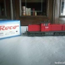 Trenes Escala: ROCO H0 63950 LOCOMOTORA DIÉSEL 2072 047-0 ÖBB DIGITAL OVP. Lote 284355103