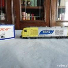 Trenes Escala: ROCO H0 62836 LOCOMOTORA ELÉCTRICA HERCULES ER 20-014 BRKS DIGITAL NUEVA OVP. Lote 284359438