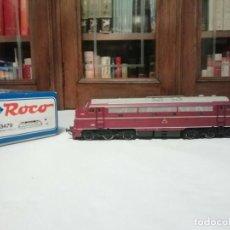 Trenes Escala: ROCO H0 63479 LOCOMOTORA NOHAB MY1116 DSB SONIDO OVP. Lote 282878223