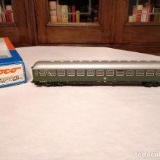 Trenes Escala: ROCO H0 44380 VAGÓN DE PASAJEROS DE 2ª CLASE DB CON LUZ NUEVO OVP. Lote 284457413