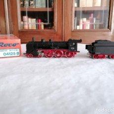 Trenes Escala: ROCO H0 04125B LOCOMOTORA VAPOR TENDER BR 17 1128 DRG DIGITAL NUEVA OVP. Lote 284458048