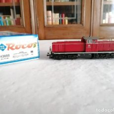 Trenes Escala: ROCO H0 43666 LOCOMOTORA DIÉSEL V 90 066 DB ALEMANA DIGITAL NUEVA OVP. Lote 284459808