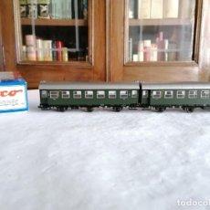 Trenes Escala: ROCO H0 44147 VAGÓN DE PASAJEROS DE 3ª CLASE DONNERBÜCHSEN DB NUEVO OVP. Lote 284460483