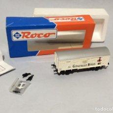 Treni in Scala: ROCO VAGON CERRADO GONZALEZ BYASS RENFE REF:47340 ESCALA H0. Lote 287084103