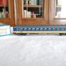 Trenes Escala: ROCO H0 44764 VAGÓN DE PASAJEROS 1ª CLASE PLAN W NS HOLANDÉS NUEVO OVP. Lote 287624538