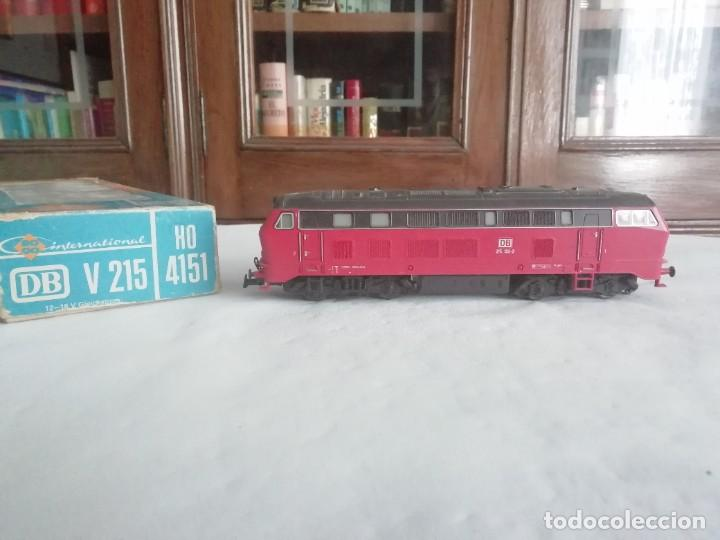 ROCO H0 4151 LOCOMOTORA DIÉSEL BR 215 132-2 DB DIGITAL OVP (Juguetes - Trenes a Escala H0 - Roco H0)