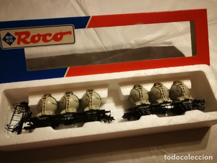 ESTUCHE 2 VAGONES ROCO 4652 (Juguetes - Trenes a Escala H0 - Roco H0)