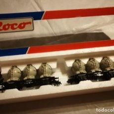 Trenes Escala: ESTUCHE 2 VAGONES ROCO 4652. Lote 288163368