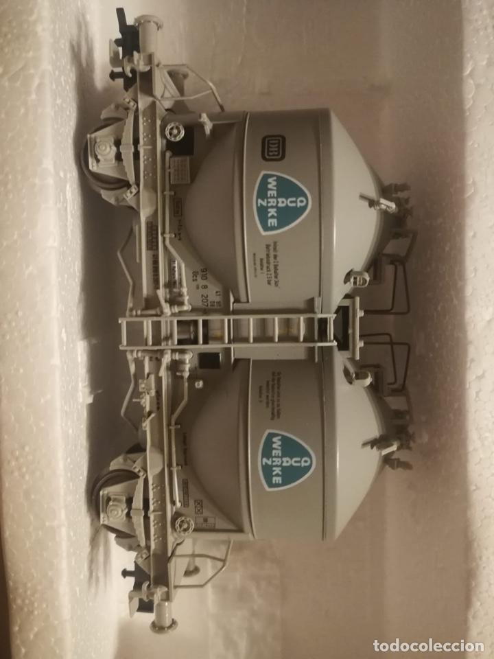 Trenes Escala: ESTUCHE 2 VAGONES SILOS, CAJA ERRONEA - Foto 2 - 288152483