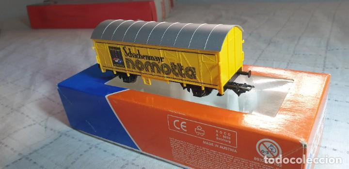 """Trenes Escala: ROCO H0 VAGÓN CERRADO """"SCHACHENMAYR NOMOTTA"""". NUEV0 A ESTRENAR EN SU CAJA - Foto 3 - 288339528"""