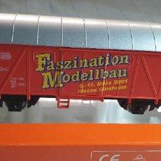 """Trenes Escala: ROCO H0 VAGÓN CERRADO """"FASZINATION MODELLBAU"""". NUEV0 A ESTRENAR EN SU CAJA. Lote 288339938"""