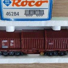 Trenes Escala: ROCO 46284 H0 - VAGON DB 437 3 906-4 - ALEMANIA 100GR. Lote 288375218