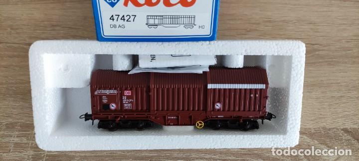 ROCO 47427 H0 - VAGON DB 466 8 437-5 - ALEMANIA 100GR (Juguetes - Trenes a Escala H0 - Roco H0)