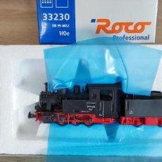 Trenes Escala: ROCO 33230 H0 ESTRECHA - LOCOMOTORA DR 99 4652 - ALEMANIA 250GR -NUEVA SIN USO-. Lote 288376798