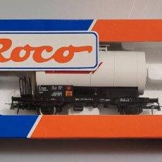 Trenes Escala: ROCO H0 46803- VAGÓN CISTERNA CEPSA RENFE. NUEVO. Lote 289544843