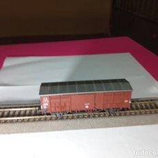 Trenes Escala: VAGÓN CERRADO ESCALA HO DE ROCO. Lote 290341223