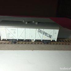 Trenes Escala: VAGÓN CERRADO ESCALA HO DE ROCO. Lote 290533103