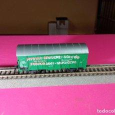 Trenes Escala: VAGÓN CERRADO ESCALA HO DE ROCO. Lote 290561098