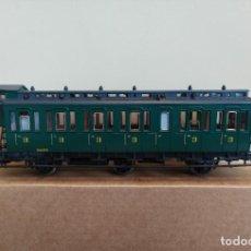 Trenes Escala: ROCO H0 COCHE VIAJEROS DE 3 EJES Y 3ª CLASE, DE LA SNCB, REFERENCIA 45536.. Lote 295747138