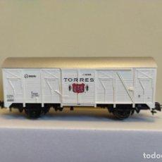 Trenes Escala: ROCO H0 VAGÓN CERRADO DE BODEGAS TORRES, RENFE, REFERENCIA 47341.. Lote 296051038