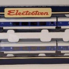 Trenes Escala: ELECTROTREN- VAGÓN DE VIAJEROS TALGO LARGO RECORRID CON LA REFERENCIA 3206 ALTERNA, ESCALA H0. NUEVO. Lote 296684458