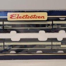 Trenes Escala: ELECTROTREN VAGÓN VIAJEROS TREN HOTEL TALGO CAMAS PENDULAR CON LA REFERENCIA 3207 CONTINUA,H0. NUEVO. Lote 296685273