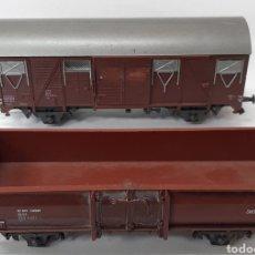Trenes Escala: VAGONES MERCANCÍA DE TREN ROCCO ESCALA HO. Lote 296778653