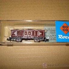 Trenes Escala: VAGON TRANSPORTE DE CARBON DE ROCO EN -N- IMPECABLE. . Lote 20503456