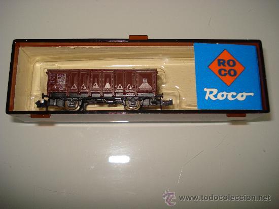 VAGON VOLQUETE -ROCO- DE LA DB EN ESCALA N. (Juguetes - Trenes a Escala N - Roco N)
