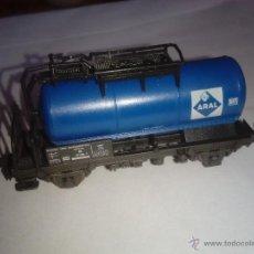 Trenes Escala: ROCO N. VAGÓN CISTERNA DE GAS ARAL. Lote 53546875