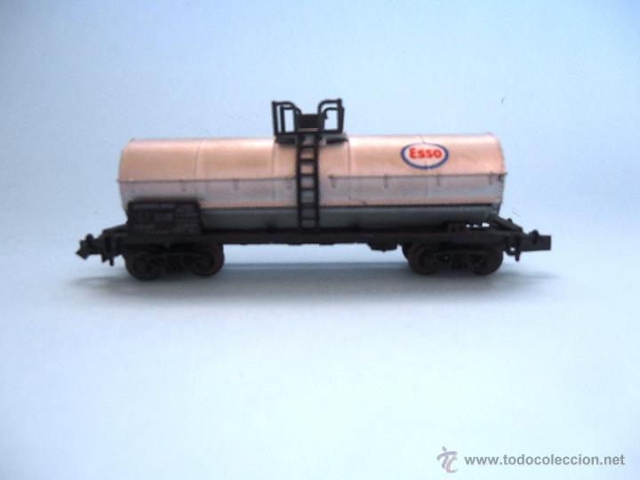 Trenes Escala: Vagón cisterna Esso Roco Escala N #JT-M - Foto 3 - 54561184