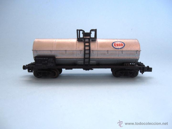 Trenes Escala: Vagón cisterna Esso Roco Escala N #JT-M - Foto 4 - 54561184