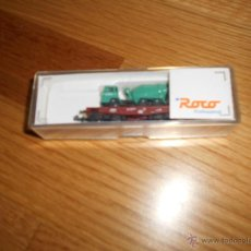 Trenes Escala: VAGON ROCO PROFESIONAL REF. 25937 TRASPORTE CAMION B.E.. Lote 54608490