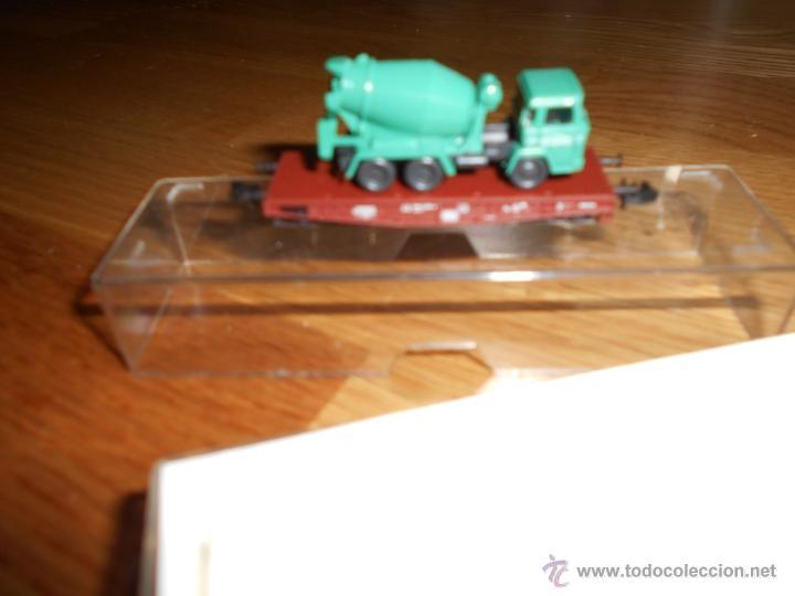 Trenes Escala: VAGON ROCO PROFESIONAL REF. 25937 TRASPORTE CAMION B.E. - Foto 3 - 54608490