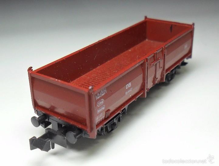 Trenes Escala: ROCO N - DB Vagón de mercancías abierto - Foto 2 - 60964403