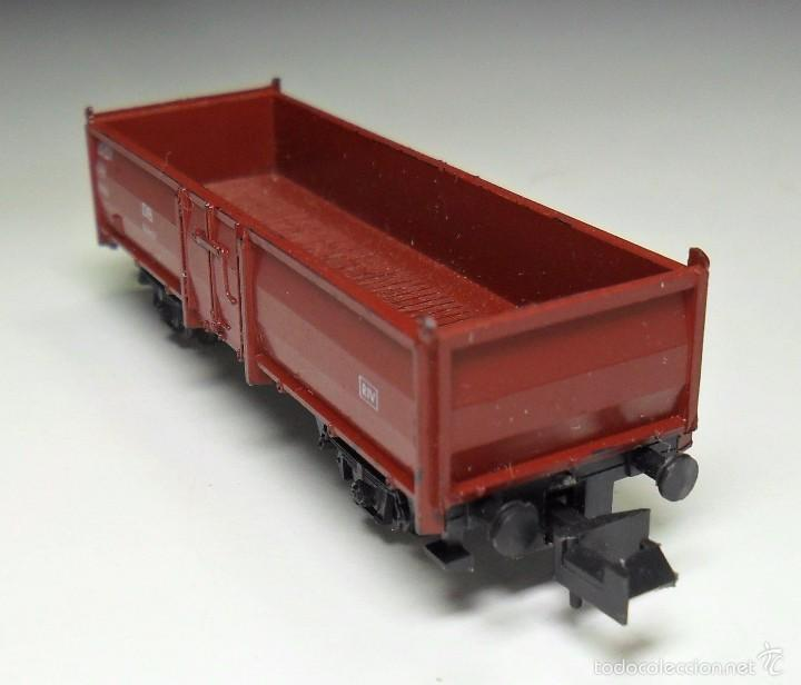 Trenes Escala: ROCO N - DB Vagón de mercancías abierto - Foto 3 - 60964403
