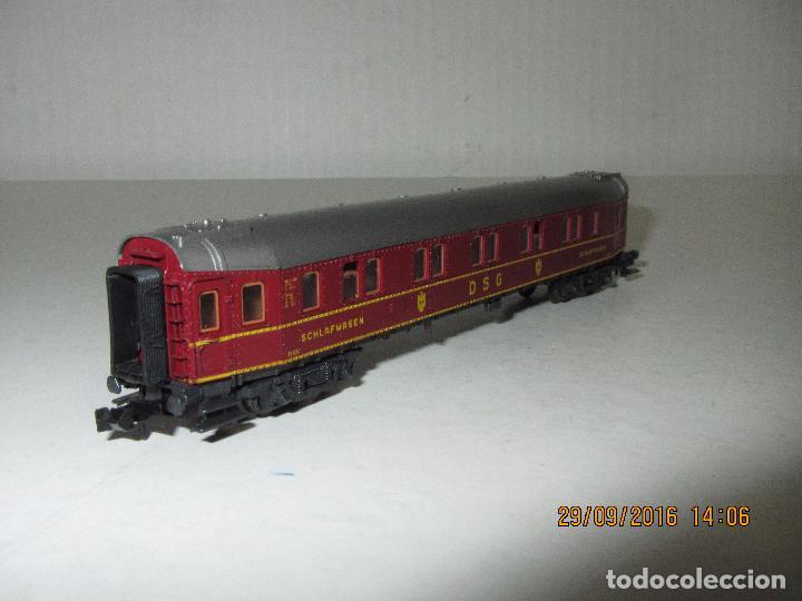 Trenes Escala: Coche Cama de la DSG en Escala *N* de ROCO - Foto 3 - 61704096