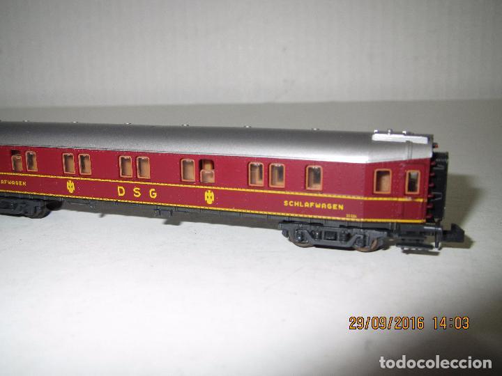 Trenes Escala: Coche Cama de la DSG en Escala *N* de ROCO - Foto 4 - 61704096