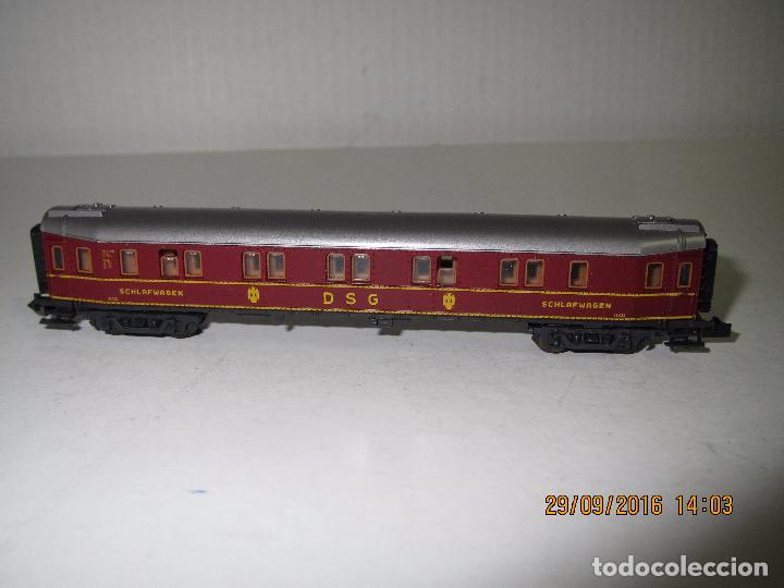 Trenes Escala: Coche Cama de la DSG en Escala *N* de ROCO - Foto 5 - 61704096